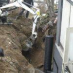 Kaivuutyöt ja sadeversijärjestelmät