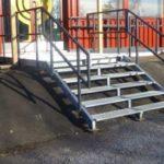 Metallirakenteet, portaat ja kaiteet