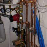 LVI-asennukset lämmönjakohuoneeseen